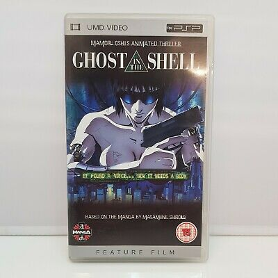 Ghost In The Shell (UMD, 2005) PSP UMD Movie Manga Anime Film