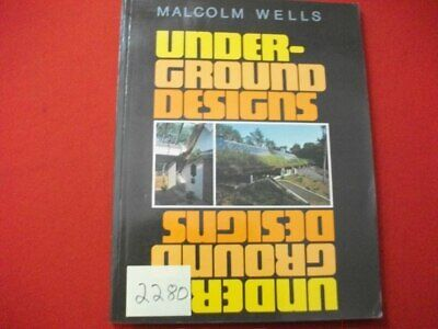 1977 Underground Designs-Detailed Instructions & Illustrations Homes & More Vgc