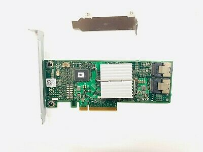 DELL H310 6GBPS SAS HBA LSI 9211-8i P20 IT Mode Low Profile