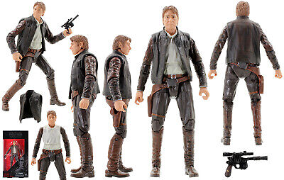 Star Wars B5894 Black Series #18 HAN SOLO 15cm Figure Child Toy Gift Boys
