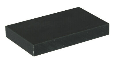 Black Nylon 6 Sheet / Plate / Block - Engineering Plastics - 100Mm X 50Mm X 10Mm