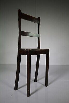 Georgian English Antique Deportment Chair