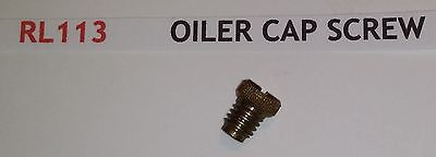 "Hornby Rl113 Live Steam 31/2"" Rocket Oiler Cap Screw  Pb"