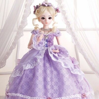 60cm BJD Doll Handmade Dolls with Clothes Shoes Wig Face Makeup Girls Toy Gift