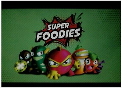 Esselunga - Super Foodies - Raccolta Completa Personaggi + Portachiavi +.Cards
