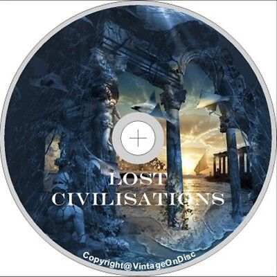 Lost Civilizations 140 Books on DVD Rom