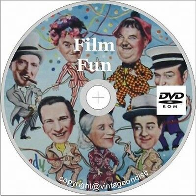 Film Fun 150 Assorted Issues on dvd Rom