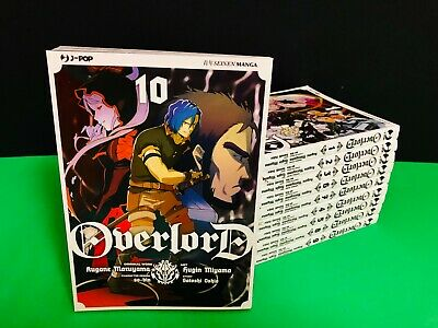 manga J-POP OVERLORD Sequenza  completa 1 2 3 4 5 6 7 8 9 10 + poster