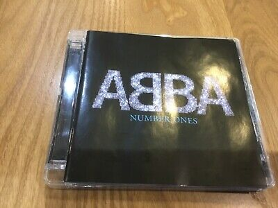 Abba - Number Ones - 19 Track Greatest Hits Cd - Dancing Queen / Mamma Mia +