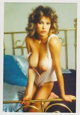 Postcard Pinup Risque Nude Stunning Girl Extremely Rare Photo Post Card 9582