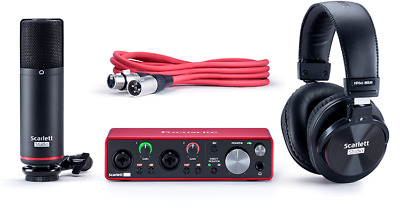 Focusrite Scarlett 2i2 Studio Bundle 3rd Generation USB Interface