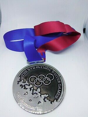 LILLEHAMMER 1994  Olympic Replica SILVER MEDAL