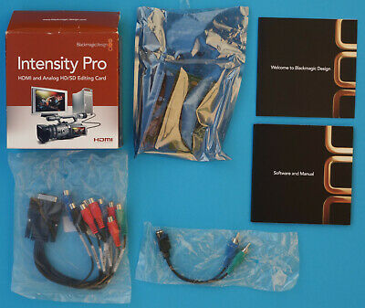 Blackmagicdesign Intensity Pro PCI-e Capture Karte HDMI + Analog
