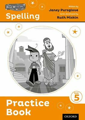 Read Write Inc. Spelling: Practice Book 5 by Ruth Miskin Home School Education