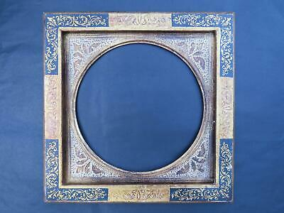 "Casette Frame Pre-Raphaelite Italian 10"" x 10"" Oval or Square Option"