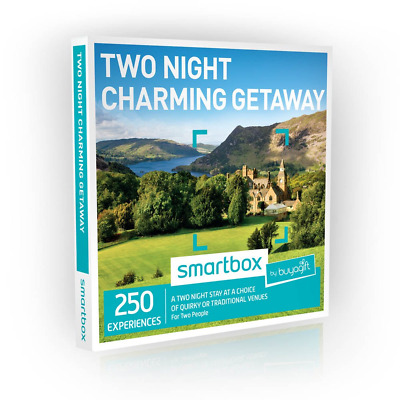 Buyagift Two Night Charming Getaway Gift Experiences - 250 two night stays at a