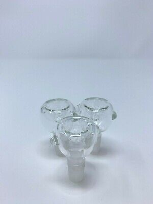 Hookah Water Pipe 14mm Male Bowl Tobacco Bowl Pieces. 2 for 9.99 - Fast Shipping
