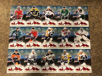 2018-19 Opc Coast To Coast Canadian Tire Pride Of The North Lot (27% Of Set)