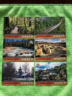 2018-19 Opc Coast To Coast Canadian Tire Landmarks Of The North Lot (15% Of Set)