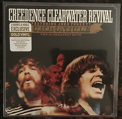 Creedence Clearwater Revival *Chronicle-The 20 Greatest Hits* Lp  Gold Vinyl