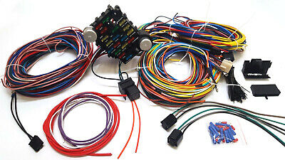1937-1940 chevy business coupe 21 circuit wiring harness wire kit new  chevrolet