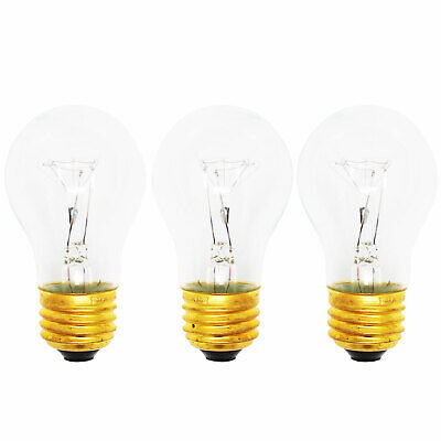 3-Pack Replacement Light Bulb for Whirlpool GD5PHAXMS10 Compatible Whirlpool 8009 Light Bulb