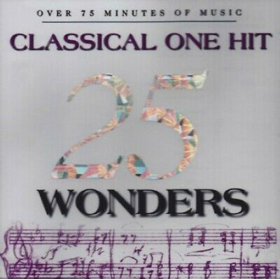 25 Classical One Hit Wonders - VARIOUS ARTISTS - EACH CD $2 BUY AT LEAST 4