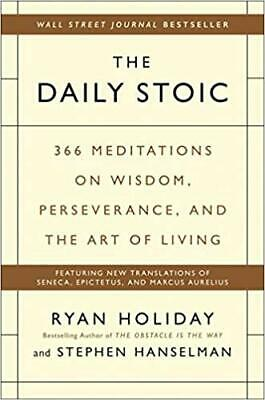 The Daily Stoic: 366 Meditations on Wisdom (E-BooK,PDF,2016) ⚡ Fast Delivery ⚡
