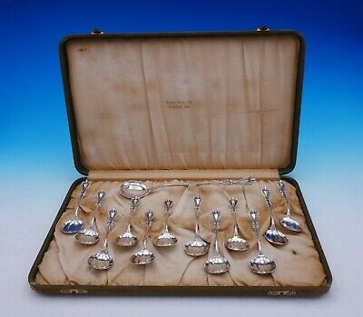 Old Colonial by Towle Sterling Silver Chocolate Set 13pc in Fitted Box Antique