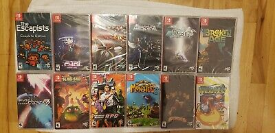 Limited run games lot for Nintendo Switch all brand new sealed