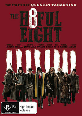 The Hateful Eight (2015) [New Dvd]