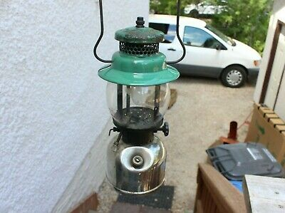 VINTAGE COLEMAN LANTERN MODEL NO. 247 SCOUT MADE IN CANADA Camping Chrome 4-?