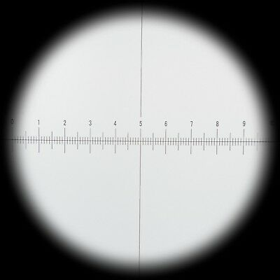 AmScope EP10X305R WF10X Microscope Eyepiece with Reticle (30.5mm)
