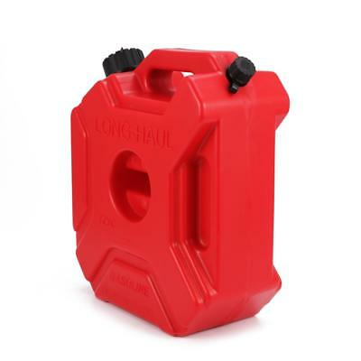 5L Jerry Can Gas Fuel Tank Petrol Motorcycle/Car Portable Storage Container Red