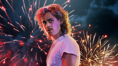 TV Show Stranger Things Billy Hargrove Dacre Montgomery 24 X 14 inch Silk Poster