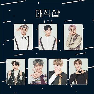 7pcs BTS 5th Muster HD Polaroid Photocards RM Jin Jimin Bangtan Boys Photo Cards