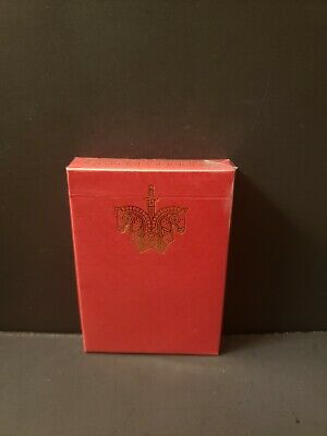 Limited Edition 1 Red Ellusionist Knights Playing Cards Deck Madison and Ramsay