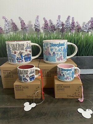 Starbucks Been There Series Disneyland & Disney California Adventure Set (4)