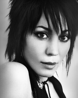 JOAN JETT Rock Singer Actress 8x10 Photo 1 New Rare Glossy Lab Print Picture #01