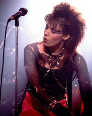 JOAN JETT Rock Singer Actress 8x10 Photo 1 New Rare Glossy Lab Print Picture #03