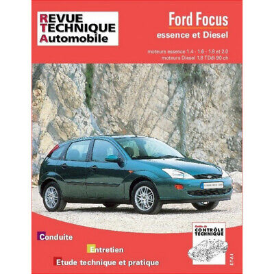Revue Technique Ford Focus Essence Et Diesel - Rta 738 / 9782726873816