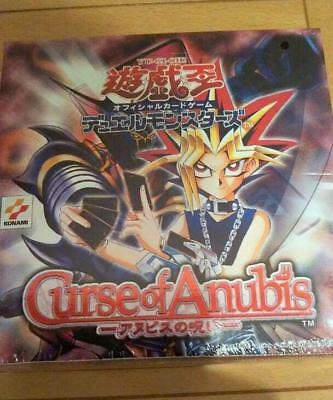 Curse Of Anubis Yugioh Yu-Gi-Oh In 30 packs Booster Box sealed Japan NEW