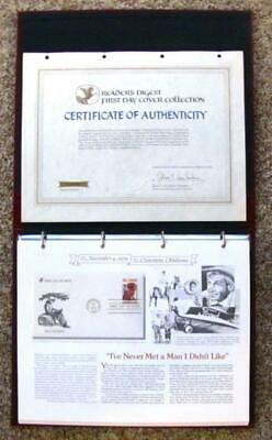 1979-1981 READERS DIGEST (44) First Day Cover (FDC) Collection w/ Album