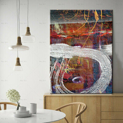Abstract canvas art Color block canvas wall art picture painting supplies canvas