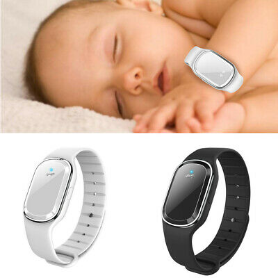 Sports Ultrasonic Anti Mosquito Pest Bug Repellent Wrist Band Bracelet Insect UK
