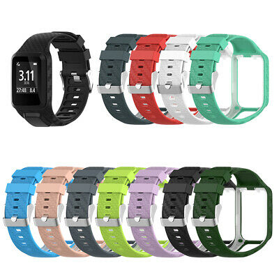 Silicone Adjustable Watch Band Strap for TomTom Adventurer Golfer Runner Cool