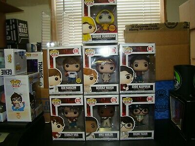 Funko Pop It Lot Of 7 Including Chase Georgie