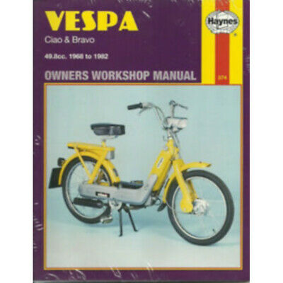 VESPA ( CIAO & BRAVO ) 1968-1982 - OWNERS WORKSHOP MANUAL / 9780856963742