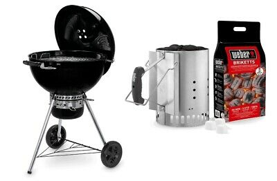 Barbecue A Carbone Weber Master Touch 57 Gbs E-5750 + Kit Cimiera 17631