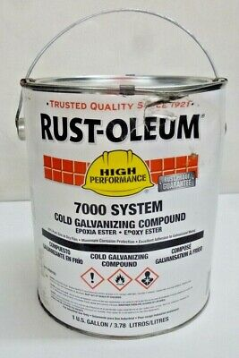 New!! Rust Oleum 7000 System Cold Galvanizing Compound, 206193, 1Gal